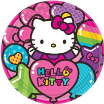 Rainbow Hello Kitty Party Supplies
