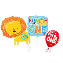 One Wild Boy 1st Birthday Balloons