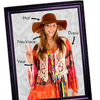 Hippie Chick Mix & Match Women's Looks