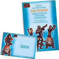 Custom Star Wars Rebels Invitations & Thank You Notes