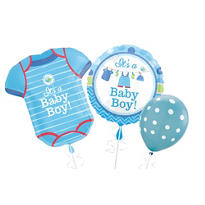 Boy Baby Shower Balloons - Shower with Love