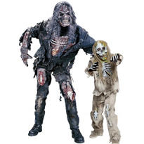 Skeleton Zombie Daddy And Me Costumes