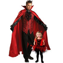 Red Devil Daddy And Me Costumes