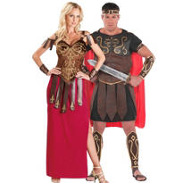 Gorgeous Gladiator and Centurion Couples Costumes