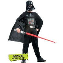Boys Darth Vader Costume - Star Wars