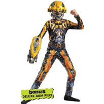 Boys Bumblebee Costume - Transformers