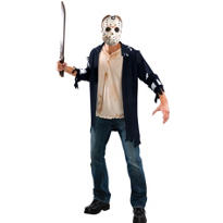 Adult Friday the 13th Jason Costume