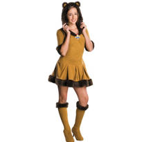 Tween Girls Cowardly Lion Costume - Wizard of Oz