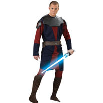 Adult Anakin Skywalker Costume Deluxe - Star Wars