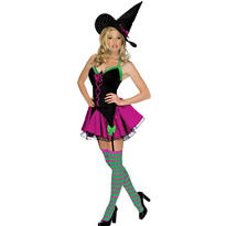 Adult Sparkle Witch Costume - Playboy