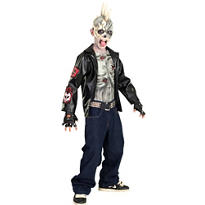 Boys Punk Zombie Costume