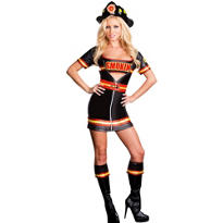 Adult Smokin' Hot Firefighter Costume