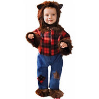 Toddler Boys Wolfman Costume