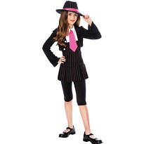 Girls Gangsta Girl Costume