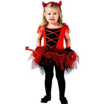 Toddler Girls Devilina Devil Costume