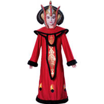 Girls Queen Amidala Costume Deluxe - Star Wars