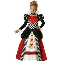 Girls Queen of Hearts Costume Elite