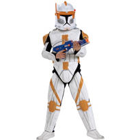 Boys Commander Cody Costume Deluxe - Star Wars Clone Wars