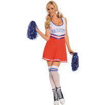 Adult Team Captain Cheerleader Costume