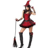 Adult Mischievous Witch Costume