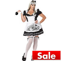 Adult Dark Alice Costume Plus Size