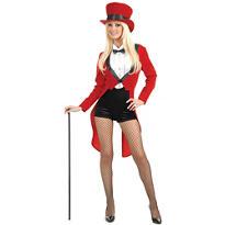 Adult Circus Sweetie Ringmaster Costume