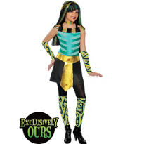 Girls Cleo De Nile Costume - Monster High