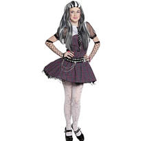 Girls Frankie Stein Dress Costume - Monster High