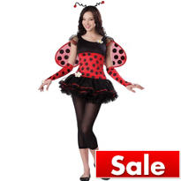 Teen Girls Love Bug Costume