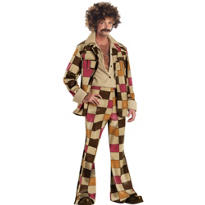 Adult 70's Disco Dirtball Costume
