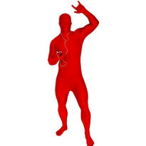 Adult Red Morphsuit Plus Size