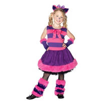 Girls Cheshire Cat Costume