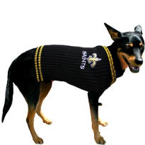 New Orleans Saints NFL Dog Sweater