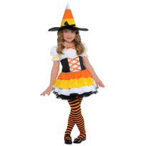 Toddler Girls Trick or Treat Witch Costume