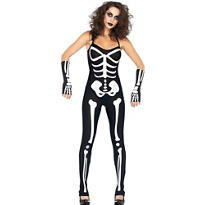 Adult Suzy Skeleton Costume