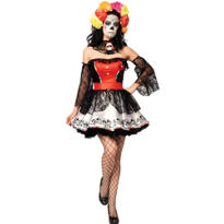 Adult Sugar Skull Costume