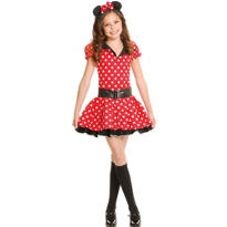 Teen Miss Mouse Costume