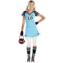 Teen Girls Touchdown Cutie Football Costume