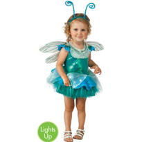 Toddler Girls Light-up the Sky Dragonfly Costume