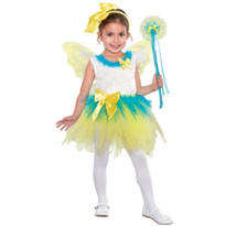 Girls Yellow Eloise Fairy Princess Costume