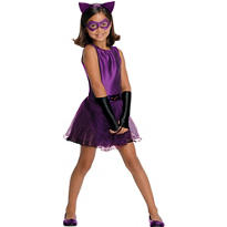 Girls Catwoman Tutu Costume - Batman