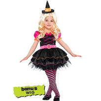 Toddler Girls Barbie Witch Costume