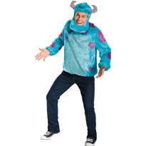 Adult Sulley Costume Plus Size Deluxe - Monsters University
