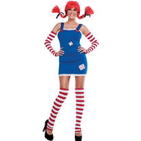 Adult Sexy Pippi Costume