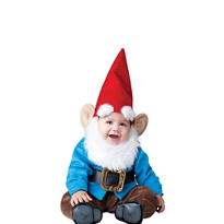 Baby Lil Garden Gnome Costume Deluxe