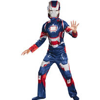 Boys Classic Iron Patriot Costume - Iron Man 3