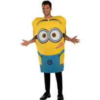 Adult Minion Dave Tunic Costume - Despicable Me 2