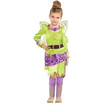 Girls Tinker Bell Costume - The Pirate Fairy