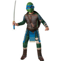 Boys Leonardo Costume Premium - Teenage Mutant Ninja Turtles