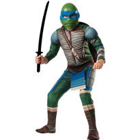 Boys Leonardo Costume Deluxe -Teenage Mutant Ninja Turtles